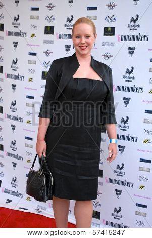 Bridget Devlin Burke at a screening of