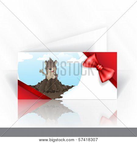 Invitation Card Design, Template.