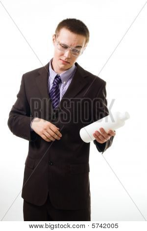 Customer Checking Ingredient In Product