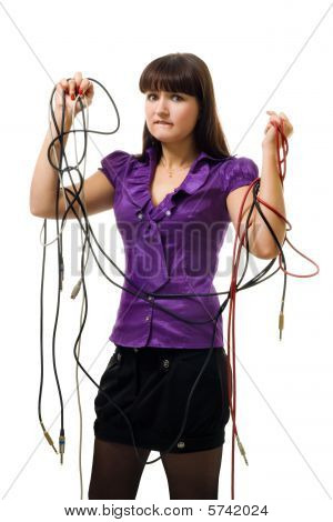 Woman Messed With Wires