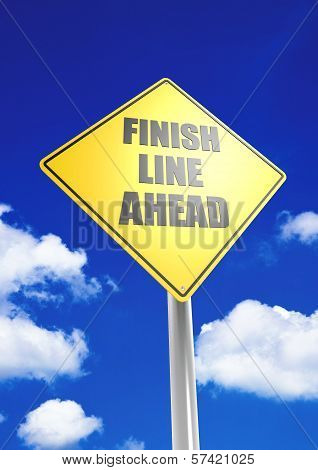 Finish line ahead