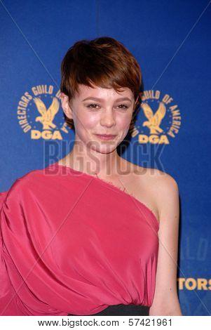 Carey Mulligan at the 62nd Annual DGA Awards - Press Room, Hyatt Regency Century Plaza Hotel, Century City, CA. 01-30-10