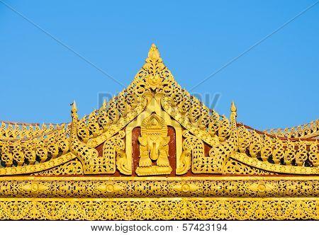 Burmese Temple Roof