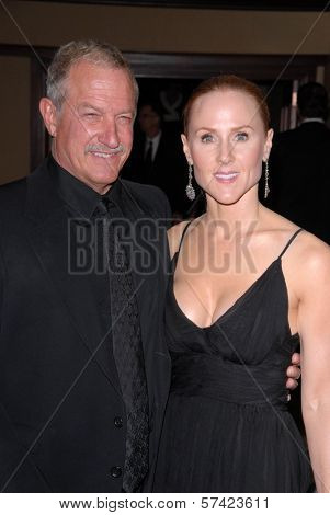 Gary Magness and Sarah Siegel-Magness at the 62nd Annual DGA Awards - Arrivals, Hyatt Regency Century Plaza Hotel, Century City, CA. 01-30-10