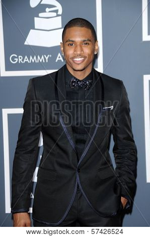 Trey Songz at the 52nd Annual Grammy Awards - Arrivals, Staples Center, Los Angeles, CA. 01-31-10