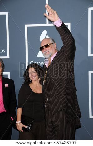 Mick Fleetwood  at the 52nd Annual Grammy Awards - Arrivals, Staples Center, Los Angeles, CA. 01-31-10