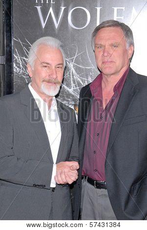 Rick Baker and Joe Johnston  at