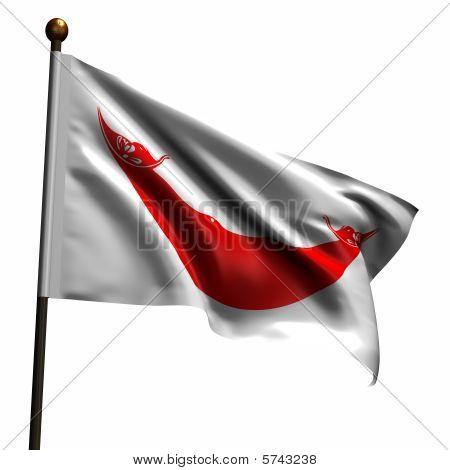 High Resolution Flag Of Rapa Nui Easter Island