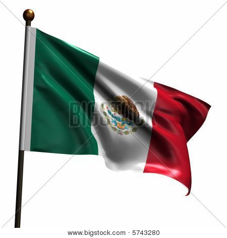 High Resolution Flag Of Mexico