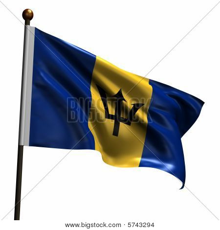 High Resolution Flag Of Barbados