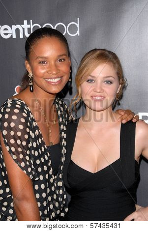 Joy Bryant and Erika Christensen at the
