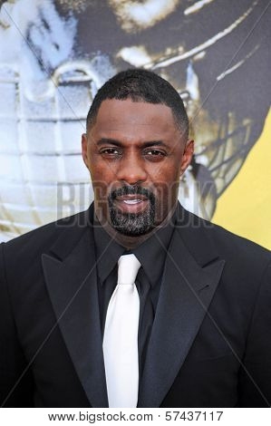 Idris Elba  at the 41st NAACP Image Awards - Arrivals, Shrine Auditorium, Los Angeles, CA. 02-26-10