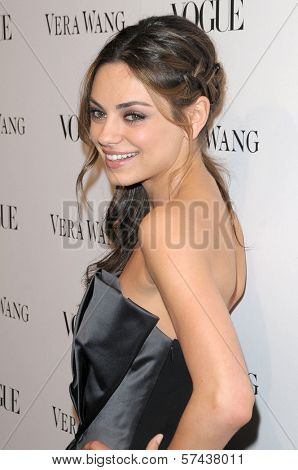 Mila Kunis at a Vogue Dinner Honoring Vera Wang, Vera Wang Store, Los Angeles, CA. 03-02-10