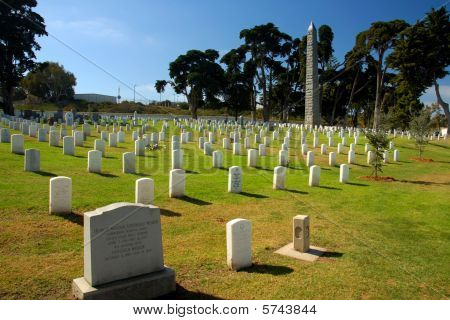 Cemetery of US Milirary Soldiers
