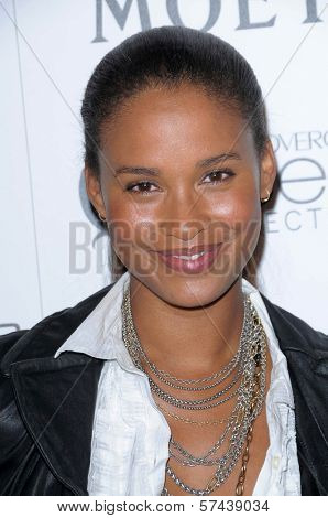 Joy Bryant  at the 3rd Annual Essence Black Women in Hollywood Luncheon, Beverly Hills Hotel, Beverly Hills, CA. 03-04-10