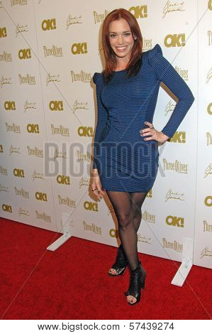 Jessica Sutta at the OK Magazine Pre-Oscar Party, Beso, Hollywood, CA. 03-05-10