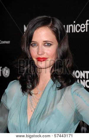 Eva Green at the Montblanc Charity Cocktail to Benefit UNICEF, Soho House, West Hollywood, CA. 03-06-10