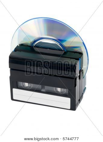 Cassettes And Cd Disc