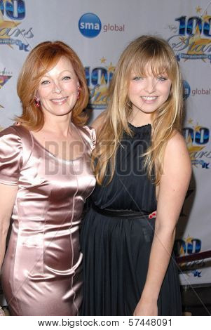 Frances Fisher and daughter Francesca Fisher-Eastwood  at the 2010 Night of 100 Stars Oscar Viewing Party, Beverly Hills Hotel, Beverly Hills, CA. 03-07-10