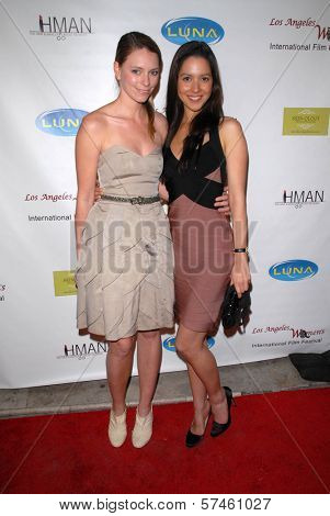 Sandra Seeling and Shina DeGucci at the 6th Annual Los Angeles Women's Int'l Film Festival Opening Night Benefit Screening of