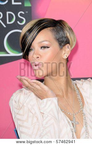 Rihanna at the Nickelodeon's 23rd Annual Kids' Choice Awards, UCLA's Pauley Pavilion, Westwood, CA 03-27-10