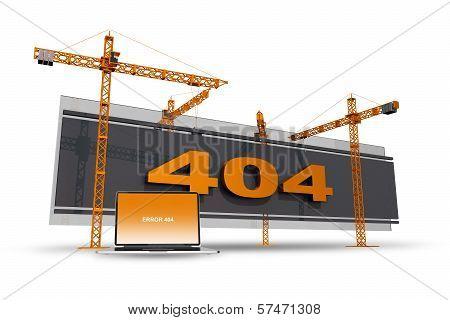 Error 404 Construction