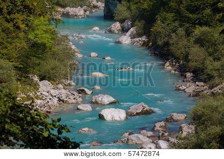 Soca River, Slovenian Alps
