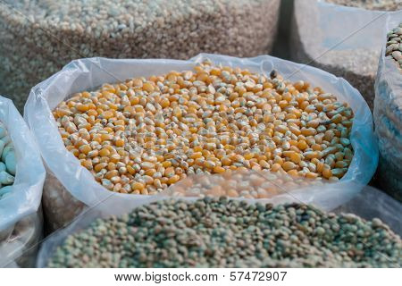 Bag Of Corn Kernels