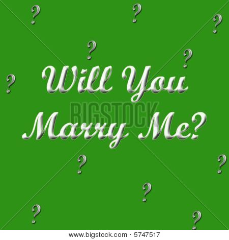 Marry Me- in Green