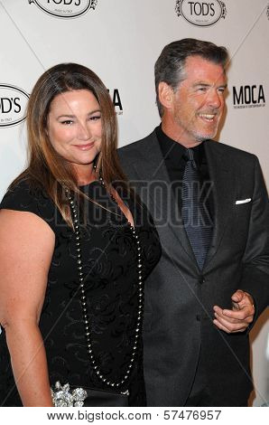 Keely Shaye Smith and Pierce Brosnan at the Tod's Beverly Hills Boutique Opening Celebration, Tod's Boutique, Beverly Hills, CA. 04-15-10