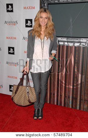 Jasmine Dustin at the MAXIM magazine and Ubisoft launch of Assassin's Creed II, Voyeur, West Hollywood, CA. 11-11-09
