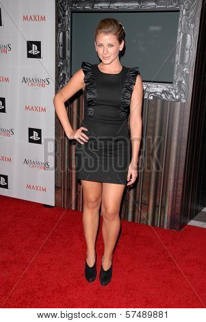 Lauren Bosworth at the MAXIM magazine and Ubisoft launch of Assassin's Creed II, Voyeur, West Hollywood, CA. 11-11-09