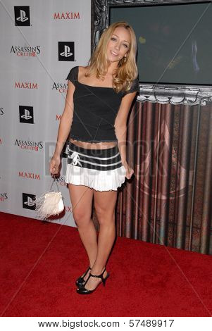 Sarah Scott at the MAXIM magazine and Ubisoft launch of Assassin's Creed II, Voyeur, West Hollywood, CA. 11-11-09