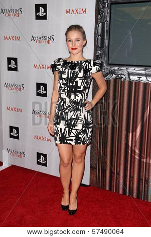 Kristen Bell  at the MAXIM magazine and Ubisoft launch of Assassin's Creed II, Voyeur, West Hollywood, CA. 11-11-09