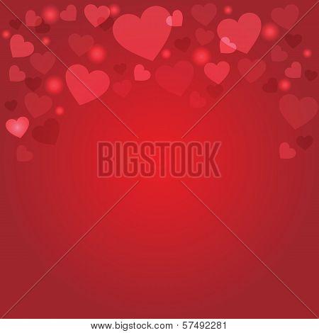 Rad Heart Background