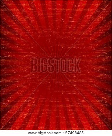Grunge sunburst pattren background (Vector)