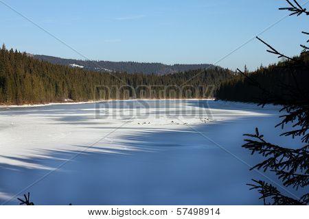 Frozen Belis Lake