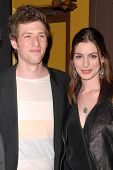 Daryl Wein and Anne Hathaway  at the