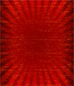 foto of messy  - Grunge red sunburst pattren background  - JPG