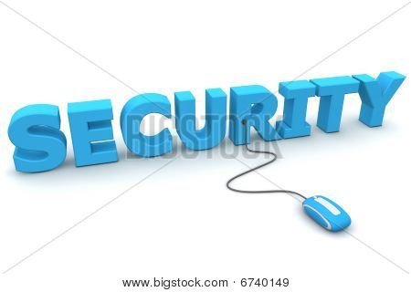 Browse With Security - Blue Mouse