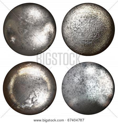 Steel Rivet Heads