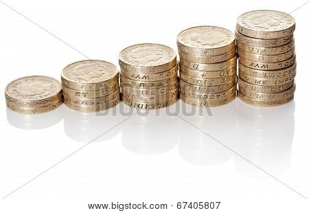 British Coins Stack