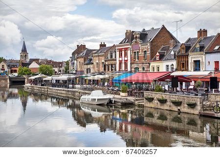Belu Embankment In Amiens, France