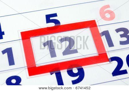 12 Calendar Day