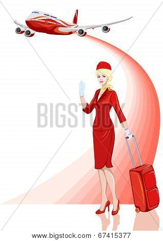 Stewardess, Air Hostess