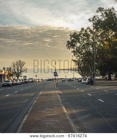 Street View Toward Montevideo Beach