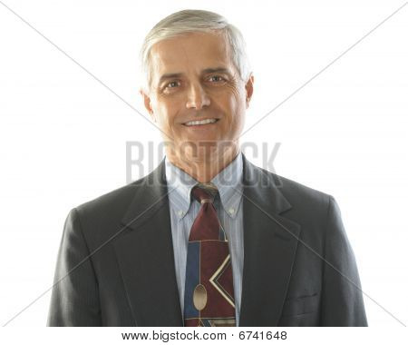 Middle Aged Businessman Portrait