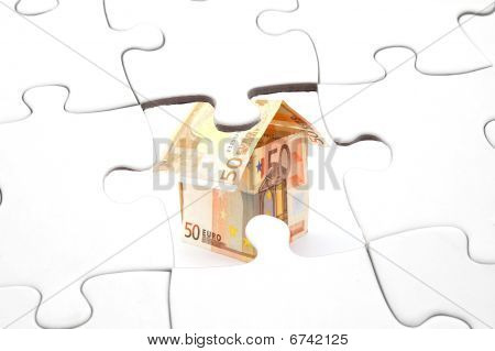 Puzzle And Money House