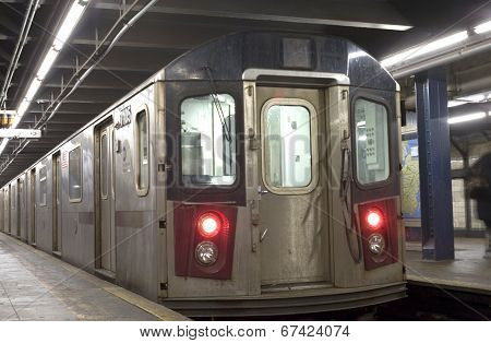New York City Subway Train