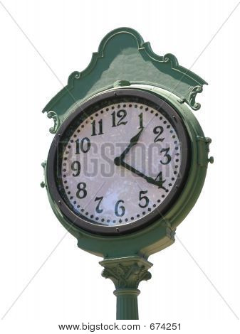 Vintage Clock (white Background)